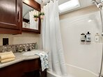 Fully Functional Bathroom Complete With All The Essentials!