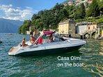 Barca Casa Olmi private tour