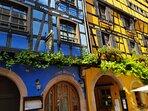 En Alsace on aime la couleur!