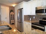 Enjoy your stay with this fully equipped kitchen!