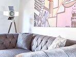 Detalle de sofa 'Chester Vintage'