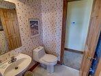 Top-Level Half Bathroom