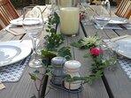 Découvrez notre table d'hôtes du terroir.