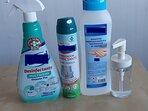 Tomamos medidas de higiene contra el Covid-19