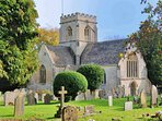 Old Minster Lovell is home to a beautiful parish church...