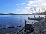Fishing along our shoreline on Lough Muckno