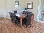 Muckno Lodge Dining Space