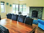 Muckno Lodge Dining & Living Room
