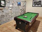 Muckno Lodge Games Room - Pool Table