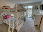 Mid-Level Bedroom with 2 Bunk Beds