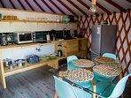 Cocina yurt