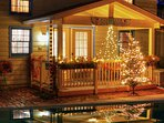 Winter Holidays at the Pool House