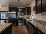 Fully Updated Kitchen with Stainless Steel Appliances, Granite Counter Tops + Cookware and Serving Dishes for Making...