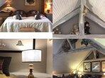Grande chambre LA SUITE avec 5 lits simples