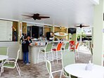 Poolside cafe & lounge with the most delicious drinks on a daily basis!