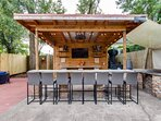 Grab a seat while you wait for your BBQ!