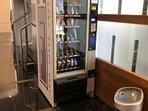 Máquinas de vending en la zona lobby espectacular donde se encuentra el wifi gratuito.