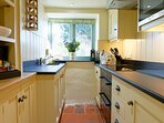 The well presented kitchen