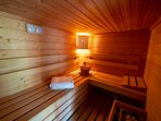 Sauna détente....
