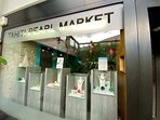 Boutique dans l'hôtel : Le Tahiti Pearl Market, avec ses superbes perles, aux couleurs incomparables