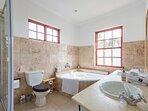 Upstairs en-suite bathroom (king bed room)