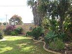 Dog-friendly fenced, safe secure garden