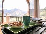 Tea set up