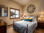 Third bedroom with Queen bed on the upper level