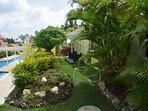 Villa pool side garden