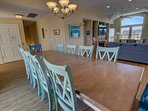 Dining Table seats 12