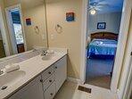 Mid-Level Jack and Jill Bathroom