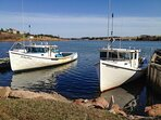 French River Fishing Boats