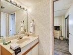 Bathroom 2 with Walk-In Shower