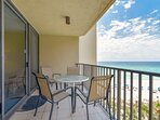 Furnished Gulf Front Balcony