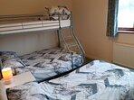 Family/Children's Bedroom sleeps 4