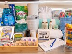Complimentary products to get your stay started