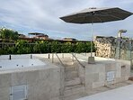 Jacuzzis en terraza (zona compartida)