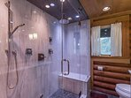 Chromotherapy Steam Shower