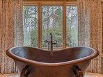 Copper Soaker Tub