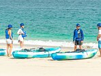 Kayaks and bicycles are available for guests with no additional cost, enjoy your adventure!