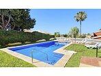 fantástica piscina de 5m x 11m
