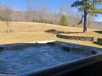 Your hot tub in the mountains!