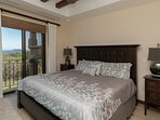 Master Bedroom with King Bed and a great view