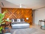 Noku Beach House - Master Bedroom - Pandan