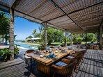 Noku Beach House - Alfresco dining