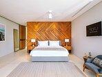 Noku Beach House - Frangipani bedroom details