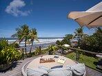Noku Beach House - Sunkissed view deck