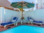Pool Area - Private