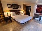 Second floor Master Suite bedroom with Queen bed