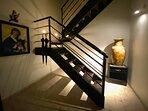 Stairway to second floor Master Suite